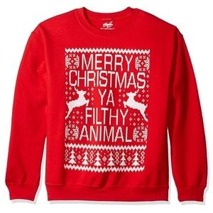 Chill ~ Merry Christmas ~ Ugly Sweater